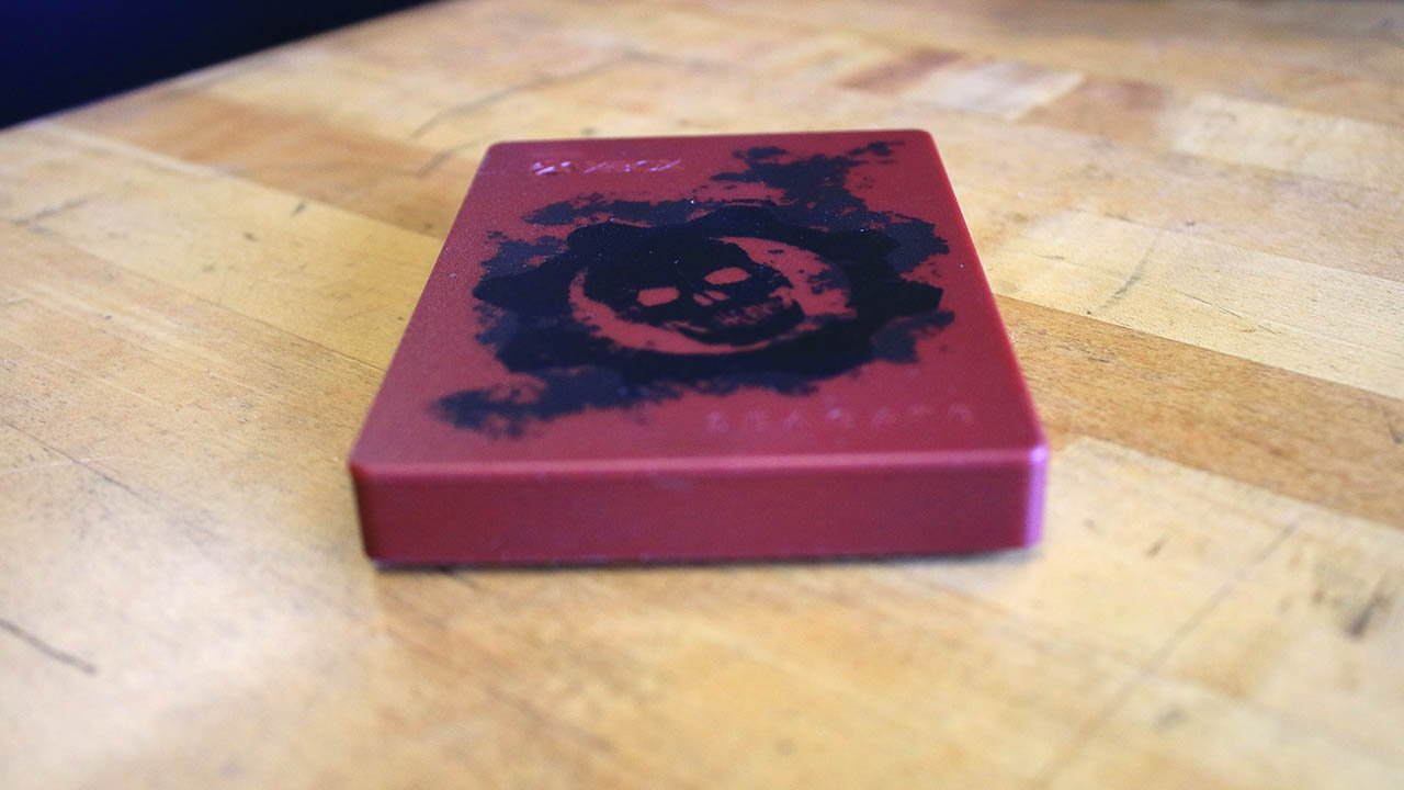 Seagate 2TB External Hard Drive- Gears of War Edition Review 2