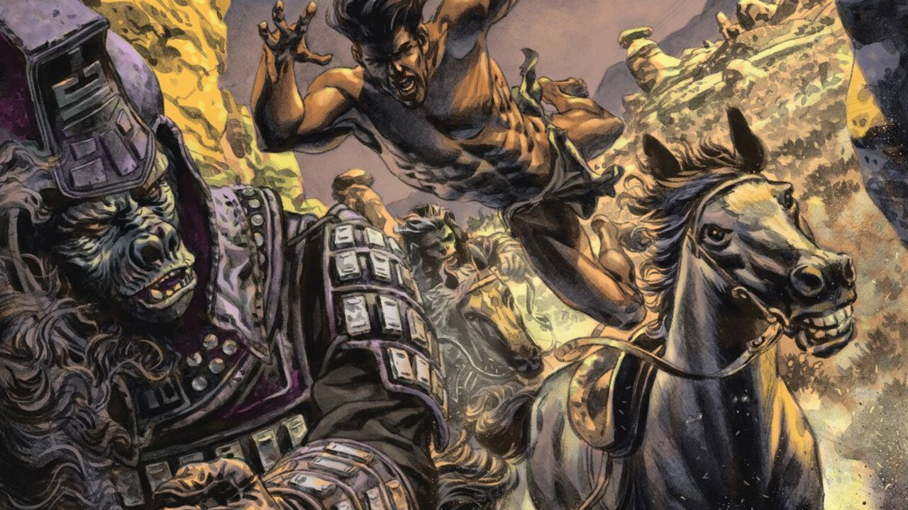 Tarzan on the Planet of the Apes Comic Review