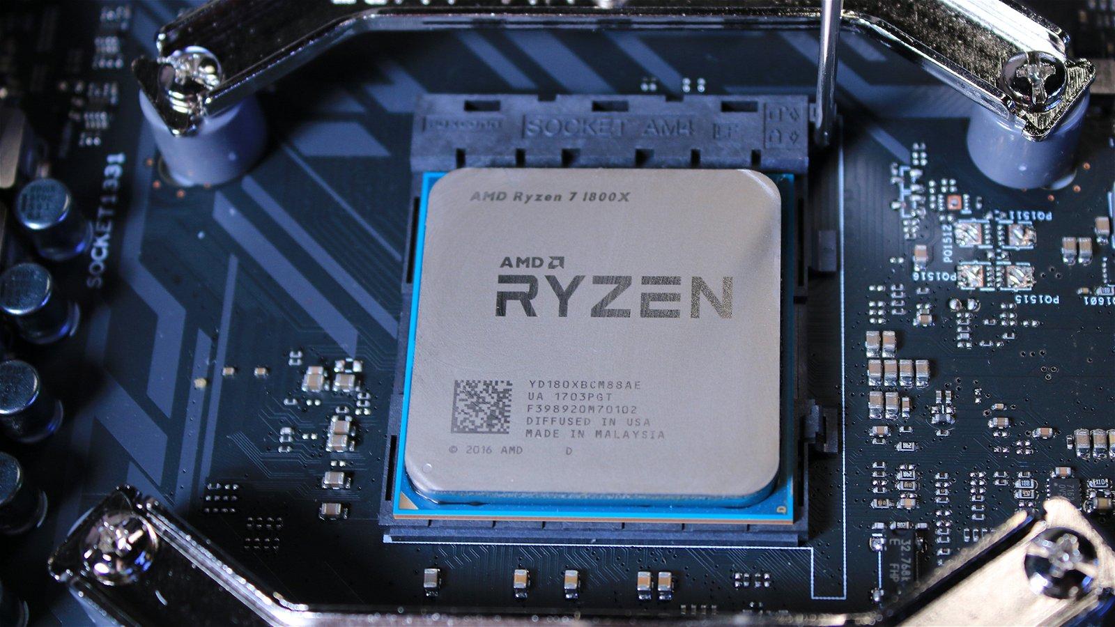 Amd Ryzen 7 1800X (Hardware) Review 4