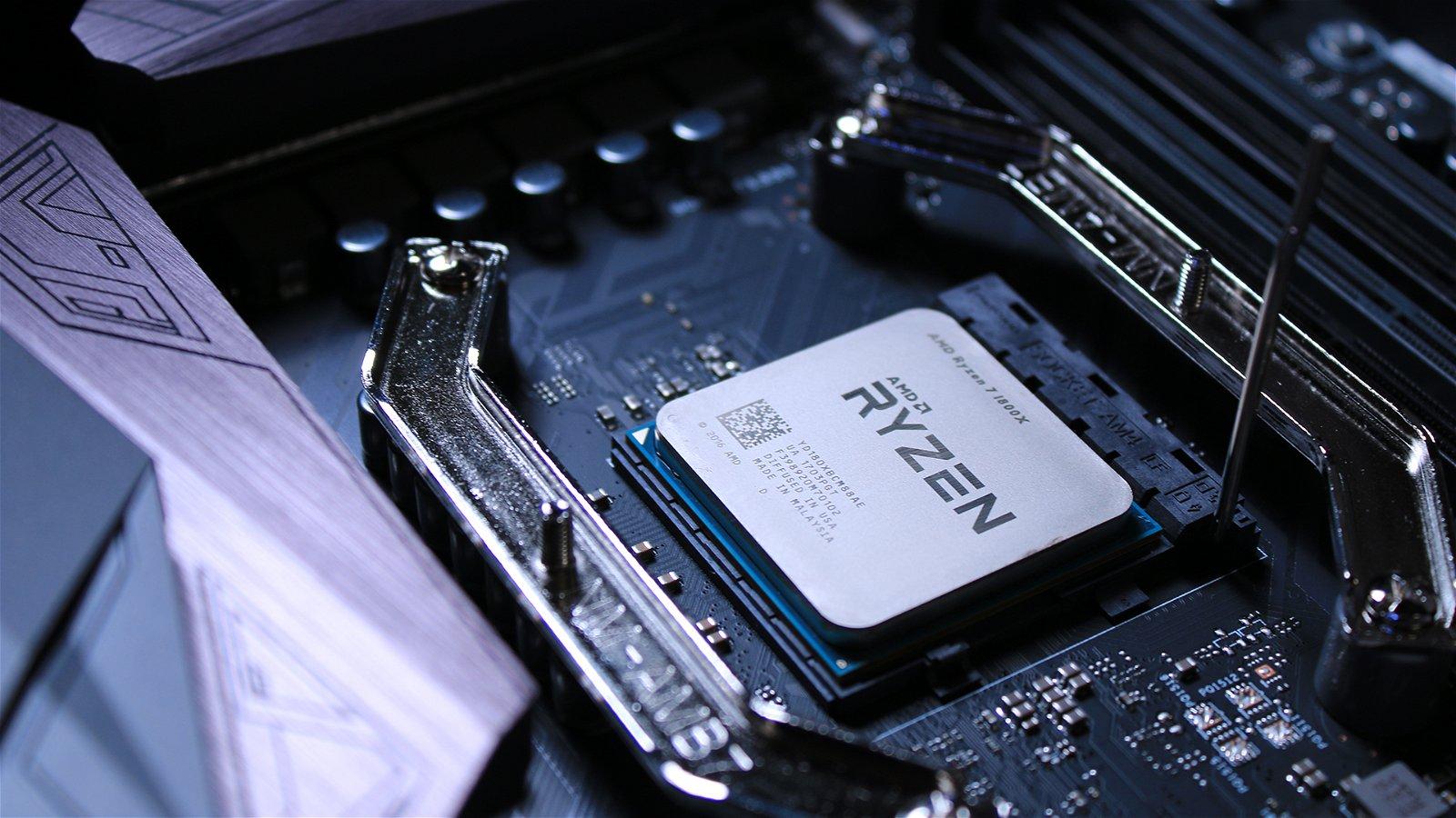 AMD Ryzen 7 1800X (Hardware) Review 2