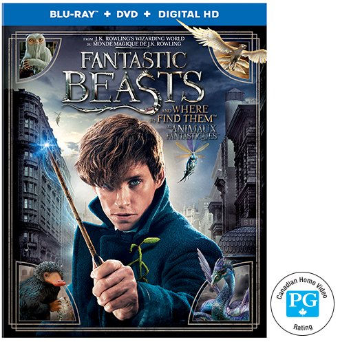 Fantastic Beasts and Where to Find Them Blu-ray Give Away
