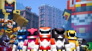 Minecraft and Power Rangers Team up With New DLC