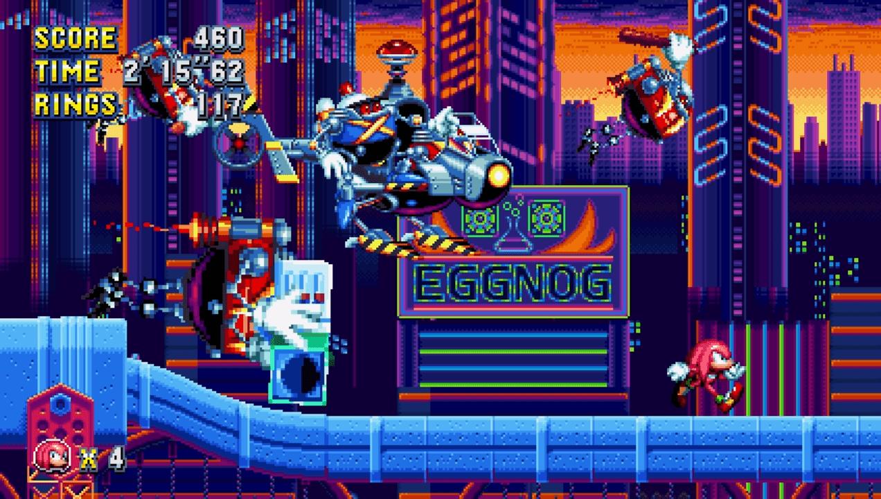 Sega Shows Off More Sonic Mania Mechanics 1