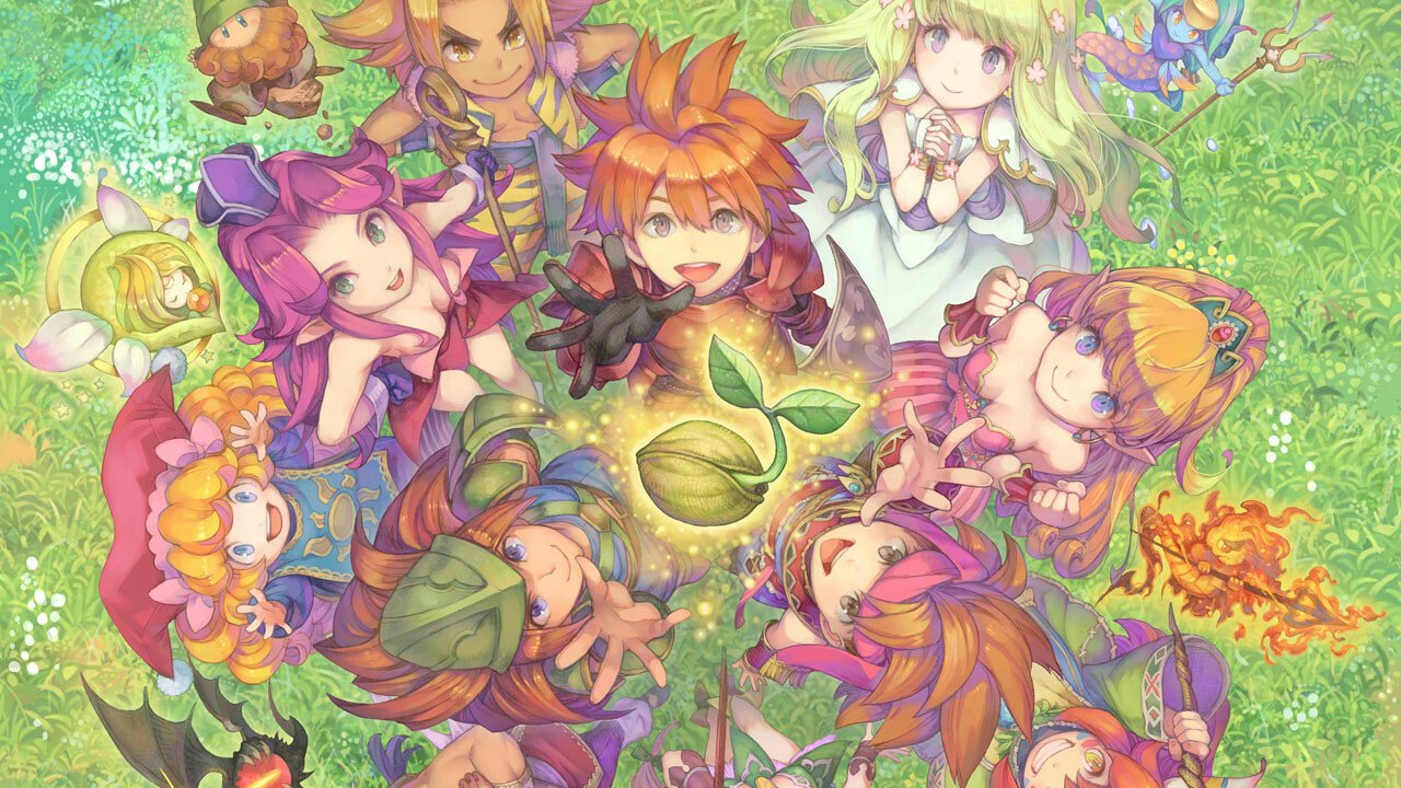 Seiken Densetsu Collection Announced for Switch