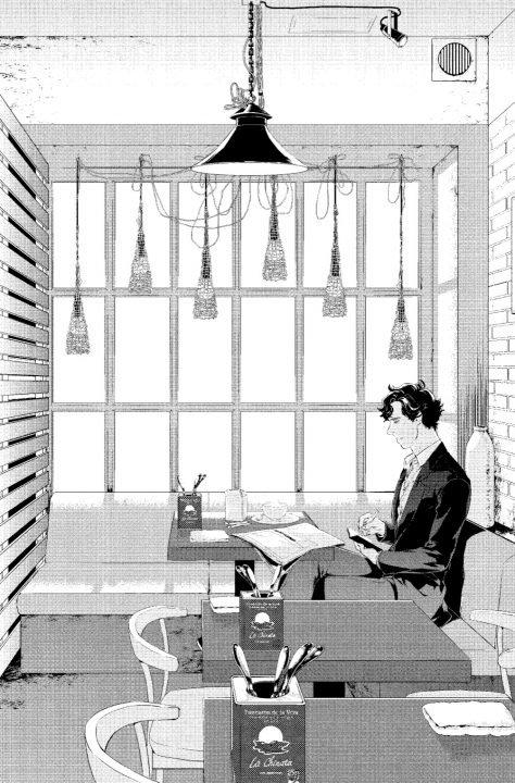 Sherlock: A Study in Pink Manga Review
