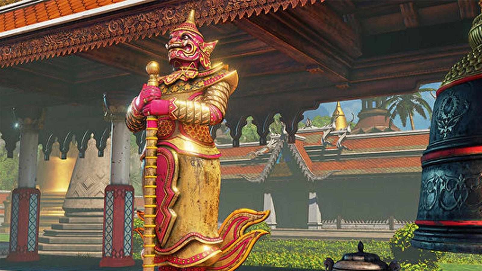 Capcom RemovesStage From Street Fighter V