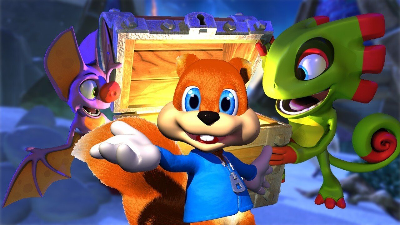 Games You Have to Experience Before Playing Yooka-Laylee