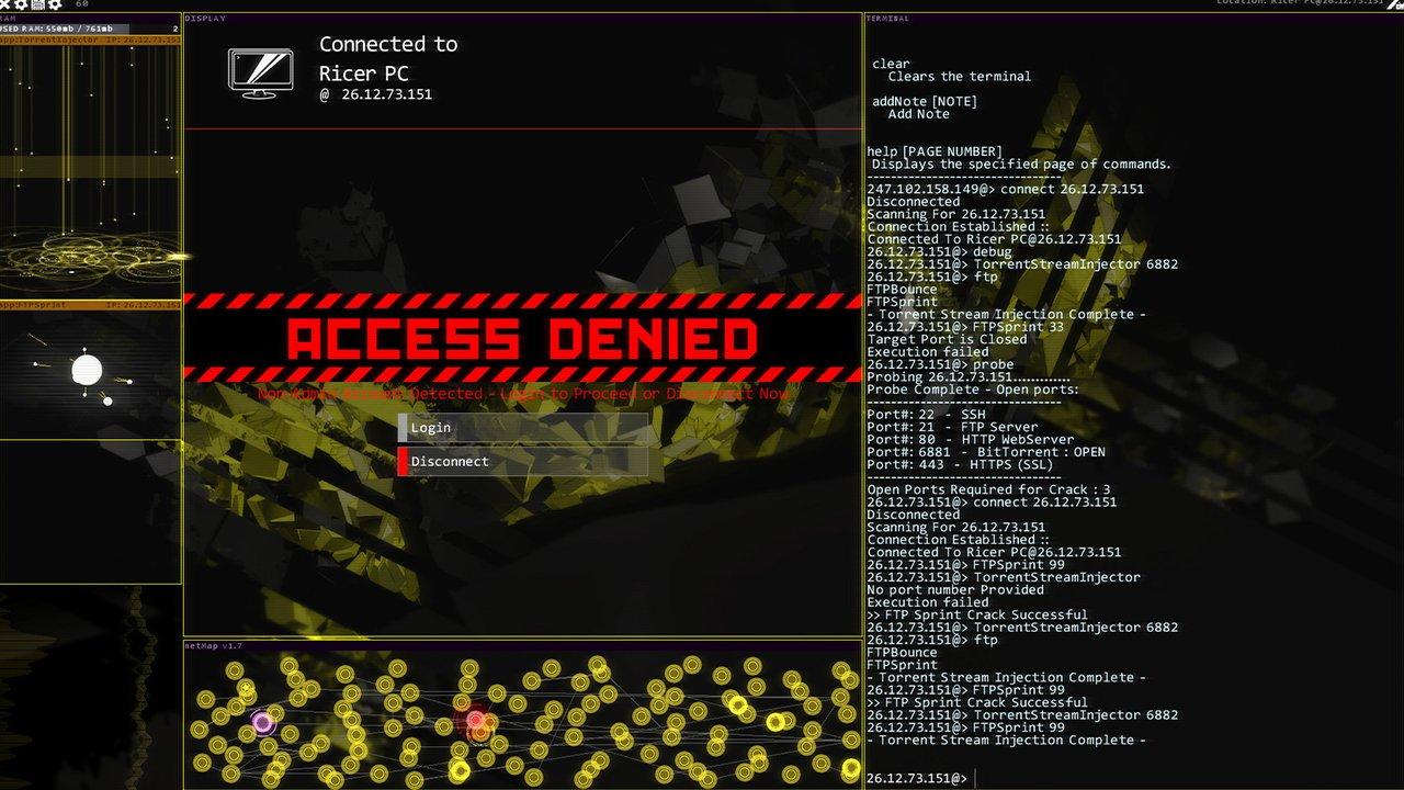 Hacknet Labryinths Review - More Hacknet