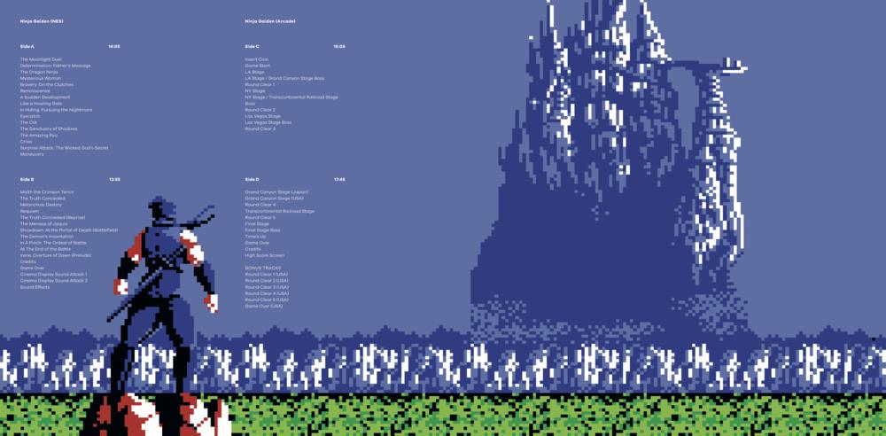 Ninja Gaiden The Definitive Soundtrack Vol 1 + 2 Review 1