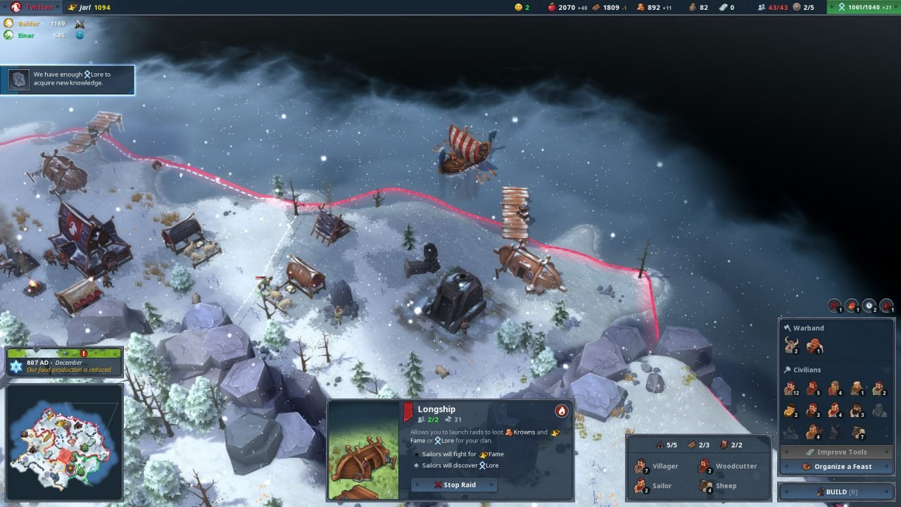 Northgard Early Access Preview -