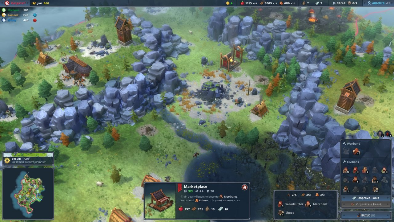 Northgard Early Access Preview - 1