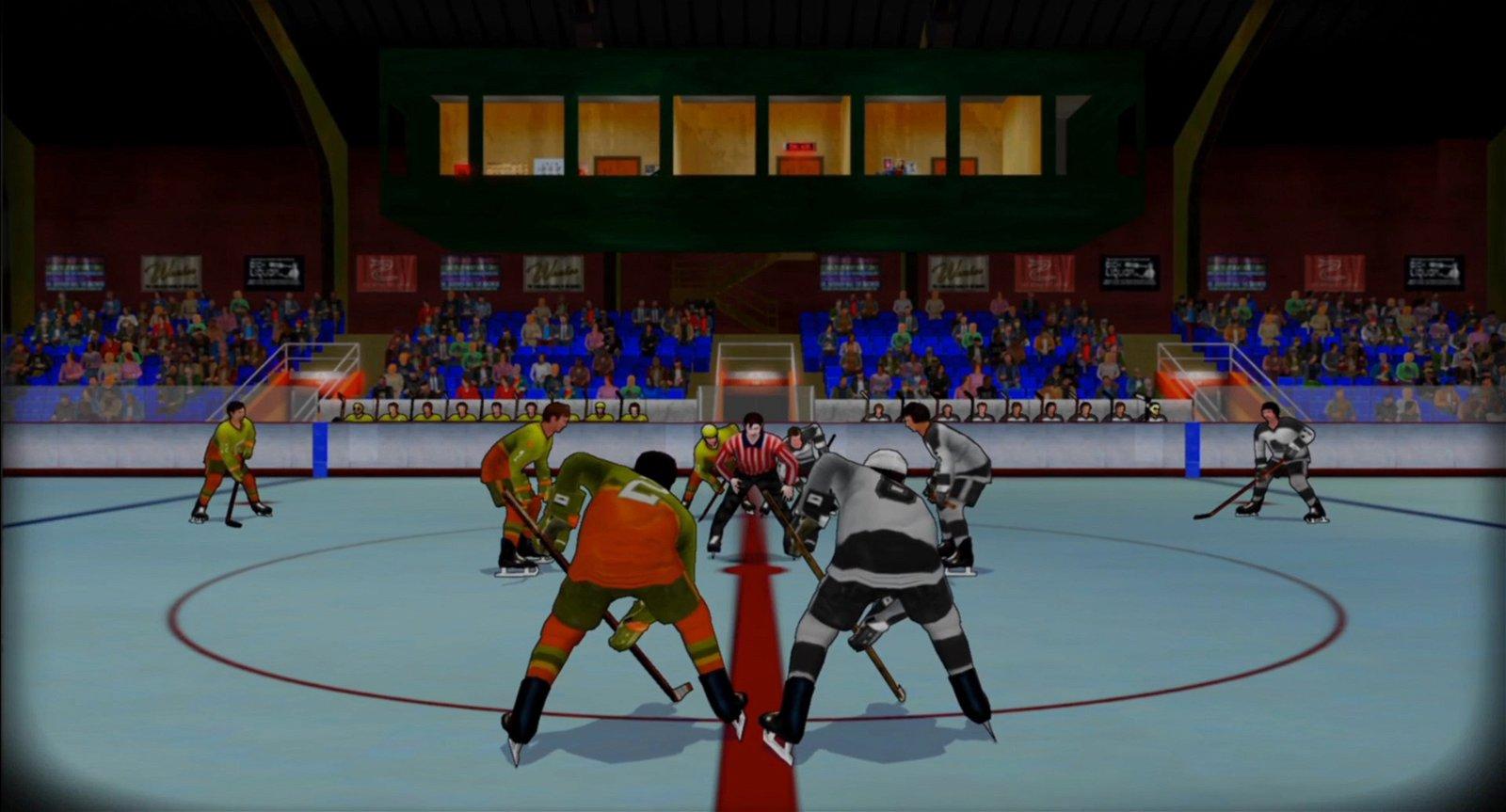 Old Time Hockey Review - Hitz Meets Slapshot 1