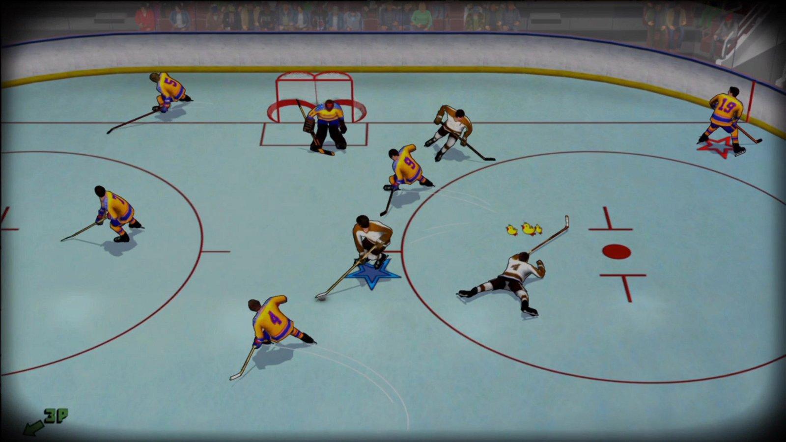 Old Time Hockey Review - Hitz Meets Slapshot 3