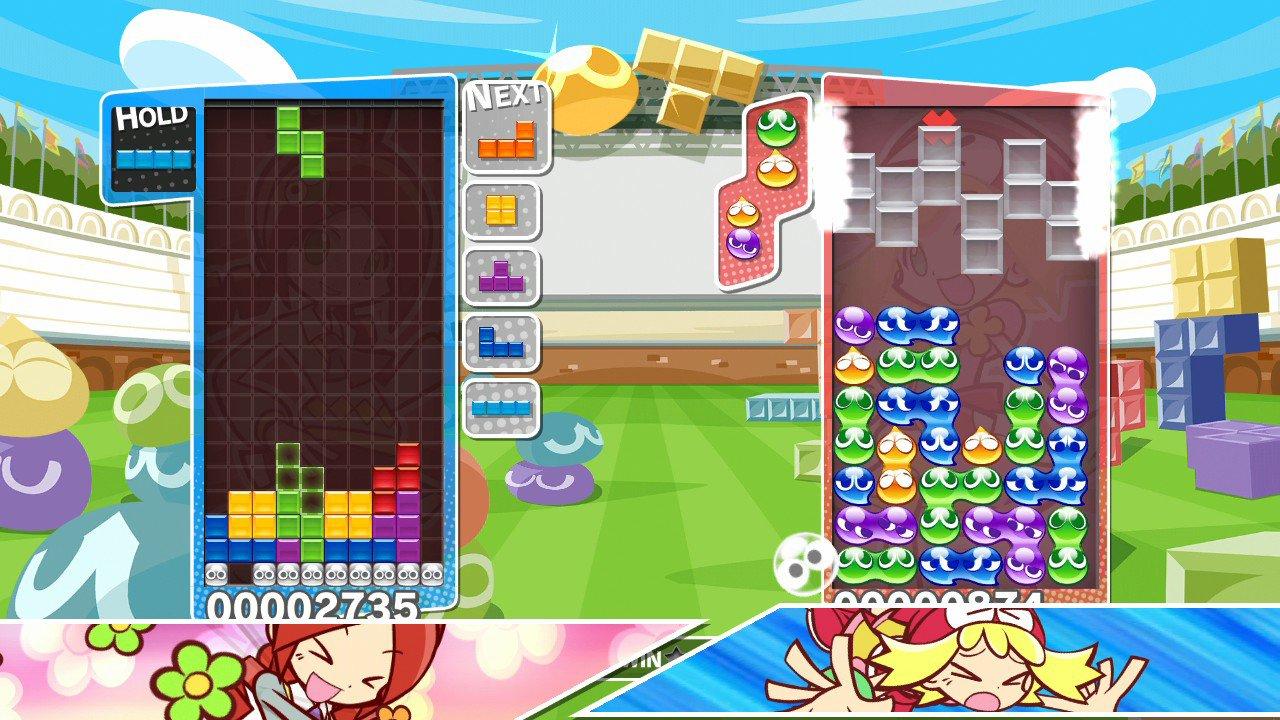 Puyo Puyo Tetris Review - One Of
