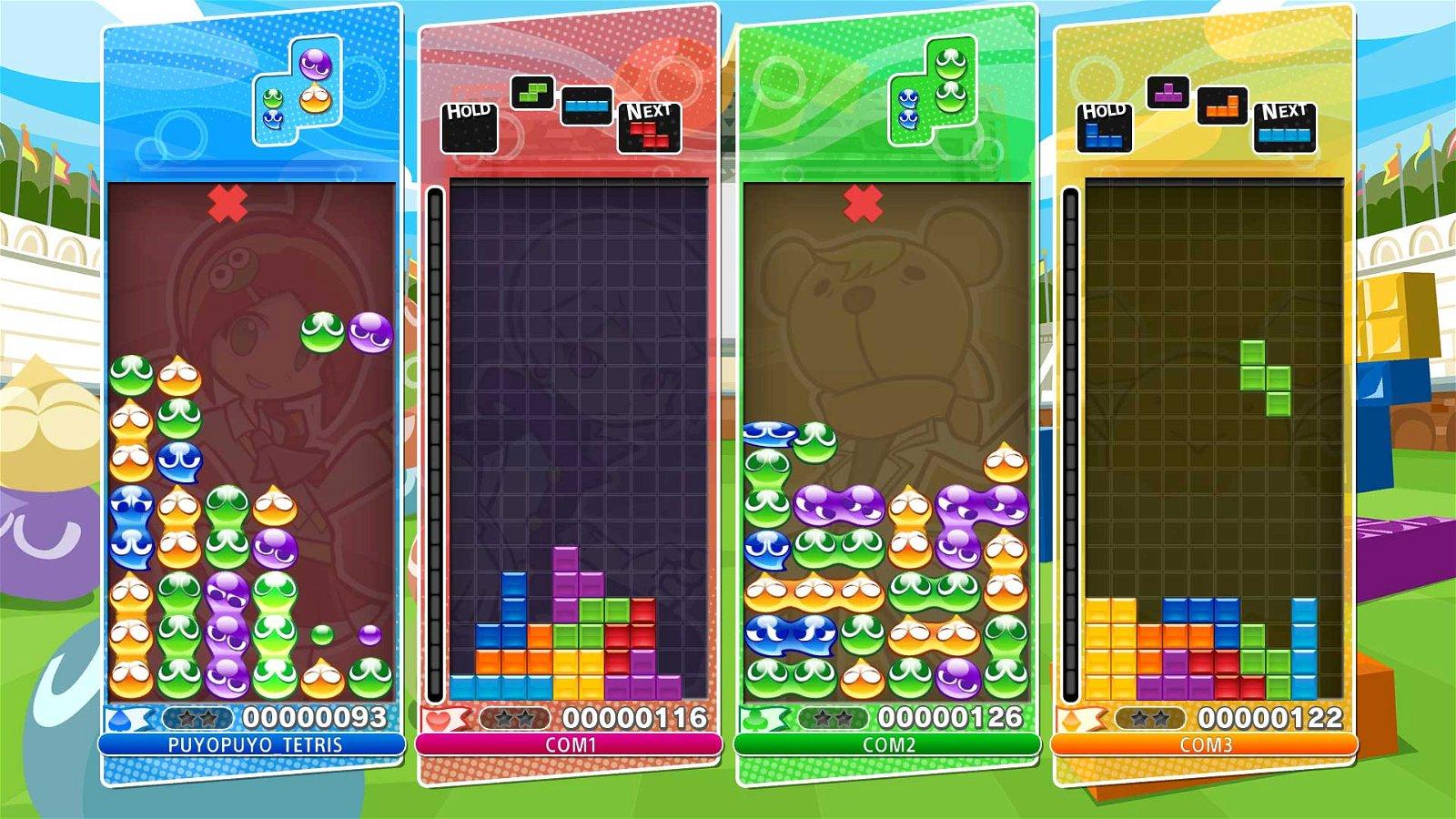 Puyo Puyo Tetris Review - Puzzle Greatness 1
