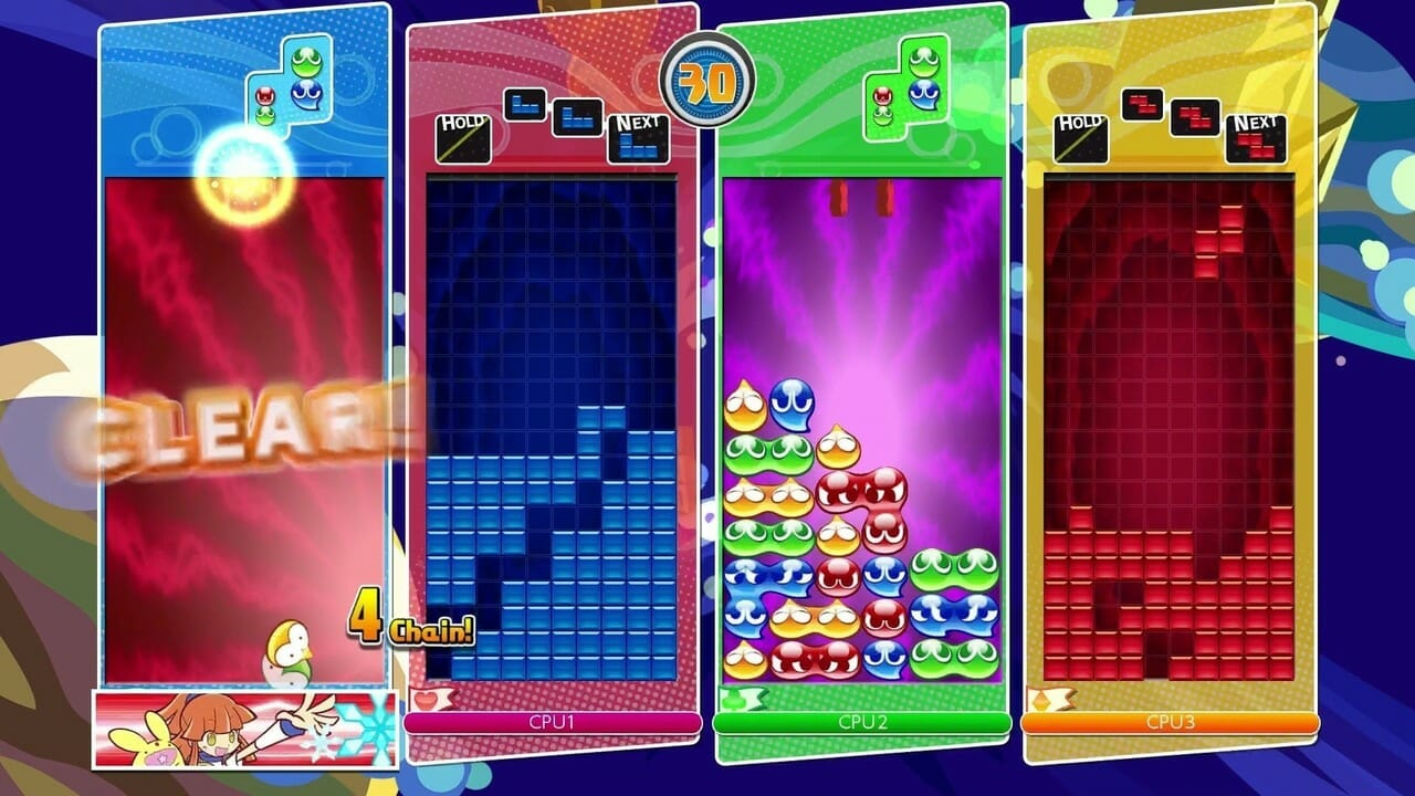 Puyo Puyo Tetris Review - Puzzle Greatness