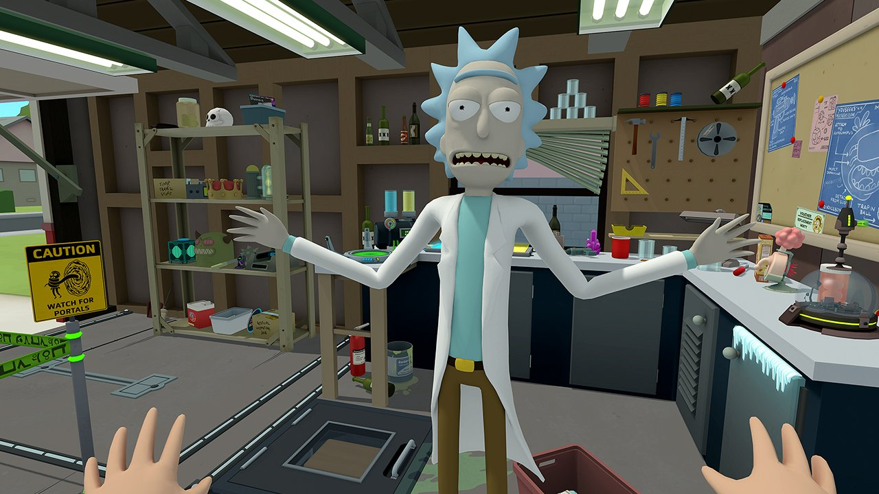 Rick and Morty VR Game Gets Release Date 1