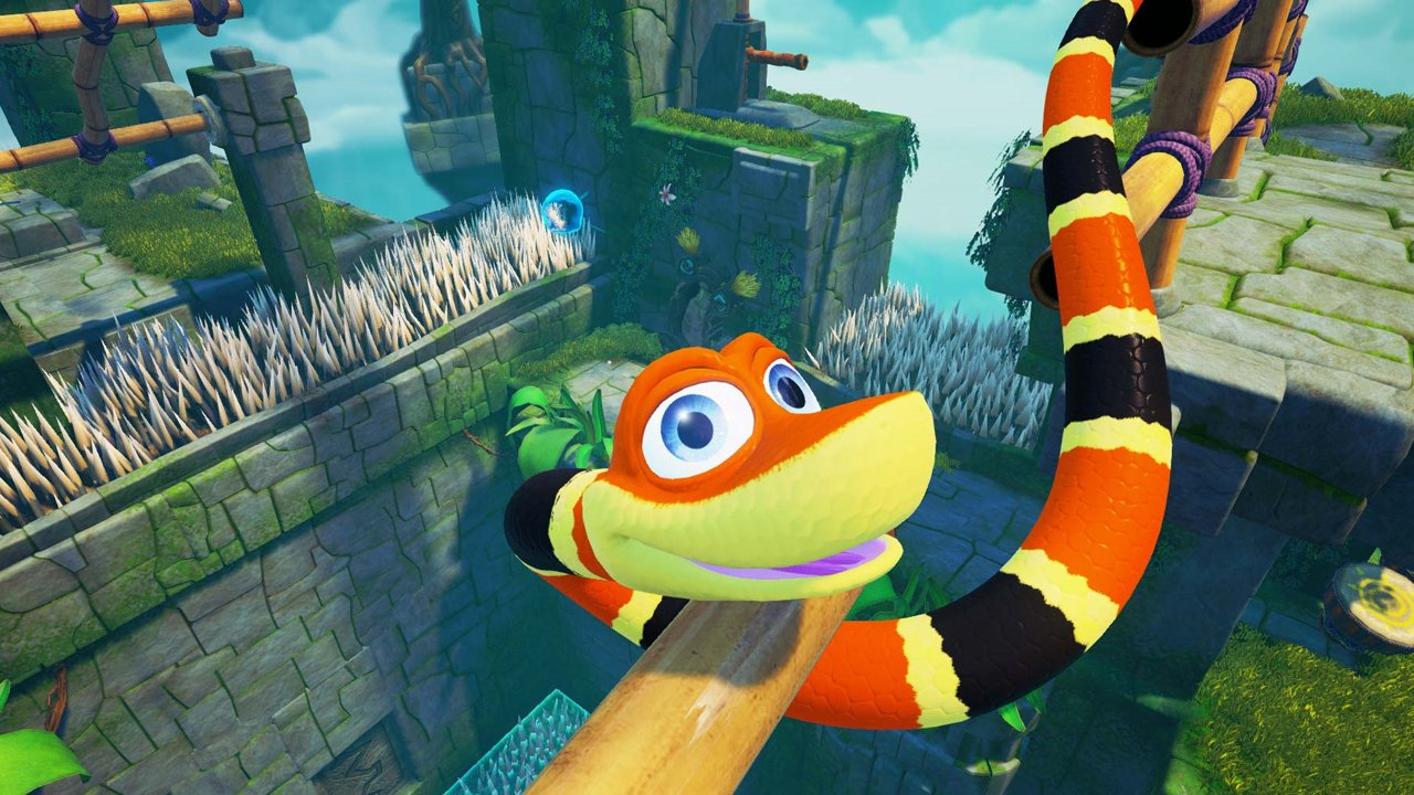 Snake Pass Review - A Colourful Snake Em' Up 4