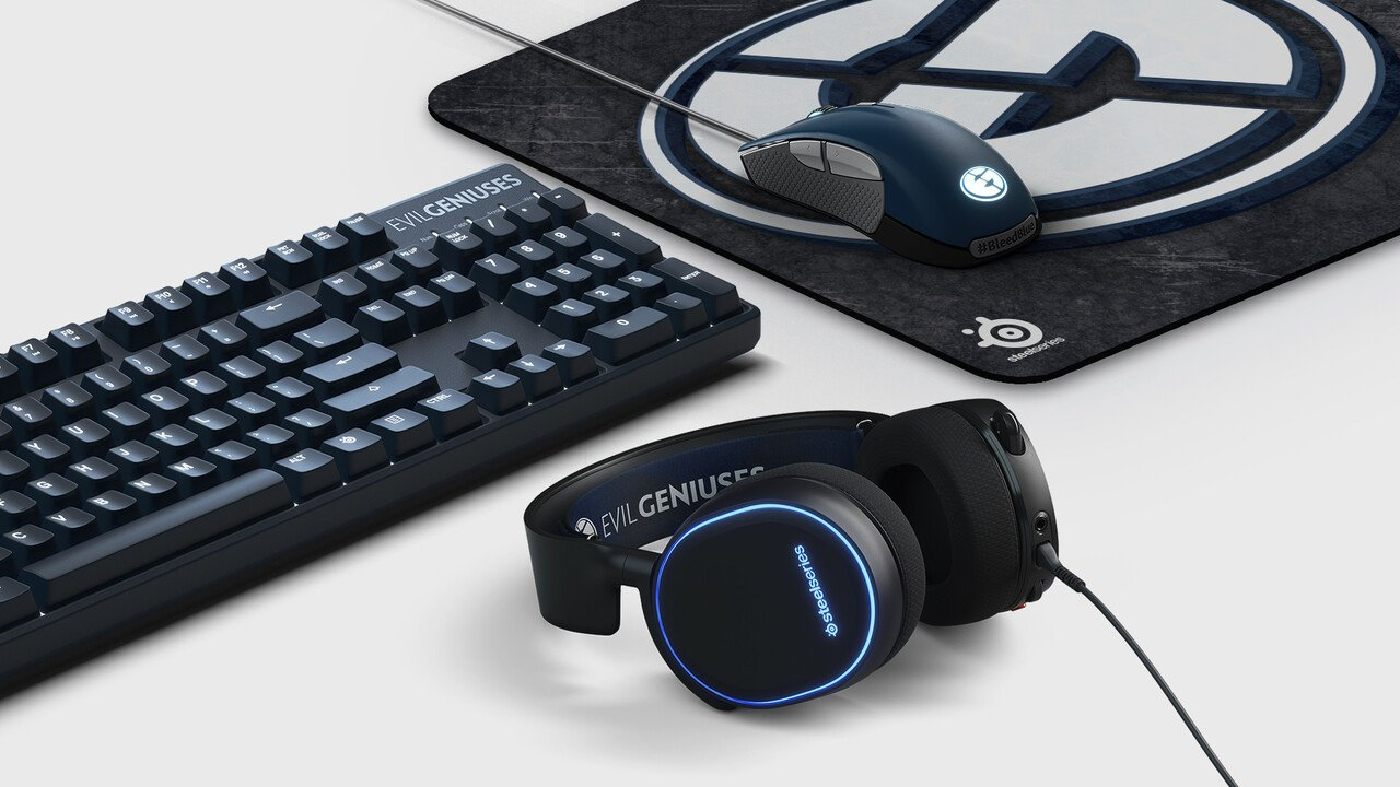 SteelSeries Reveals Brand New Gaming Peripherals