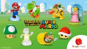 Super Mario Happy Meal Toys Now Available In America
