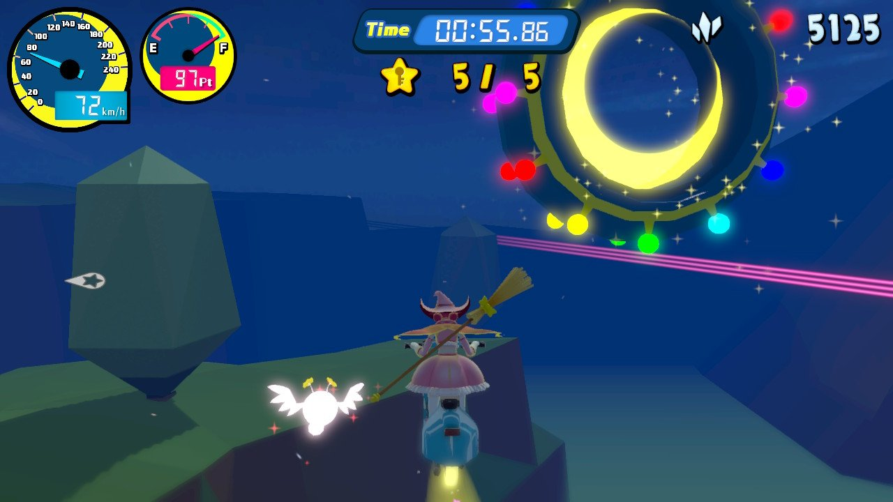 Vroom in the Night Sky Review -