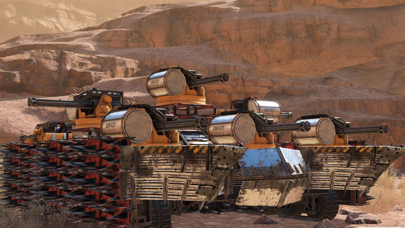 Crossout Preview - Promising Vehicular Combat 4