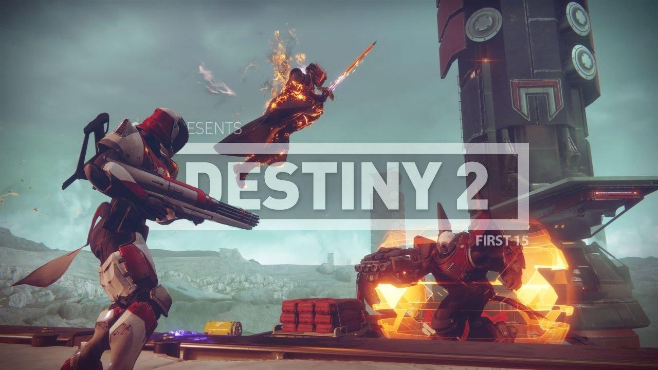 First 15: Destiny 2 - Strike Gameplay