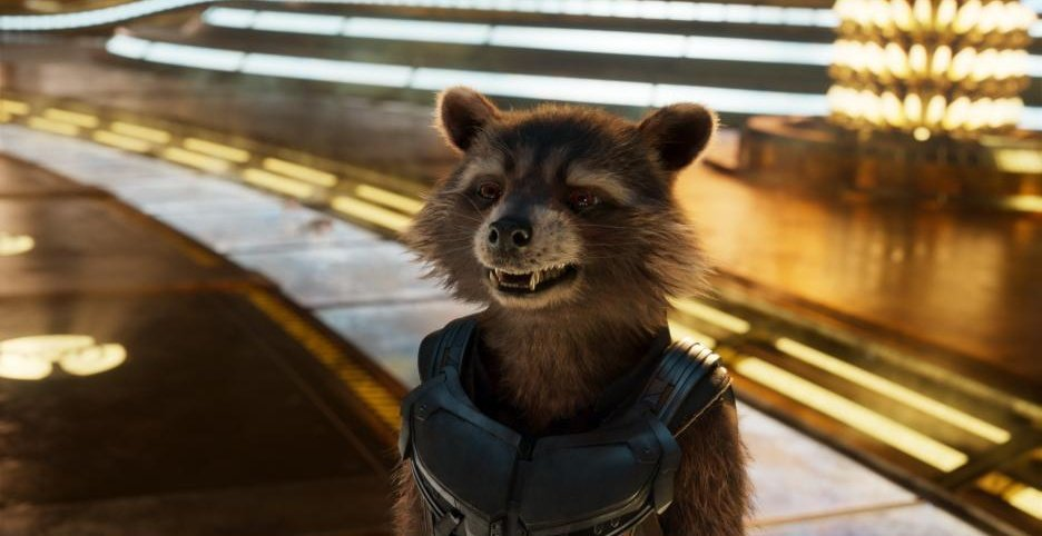 Image result for rocket raccoon winking