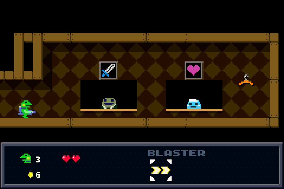 Kero Blaster Review - Silly, Well Crafted Charisma 3