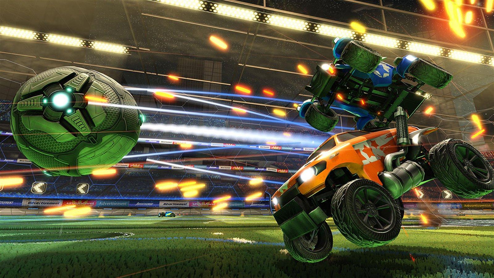 Rocket League and WWE Announce Partnership 1