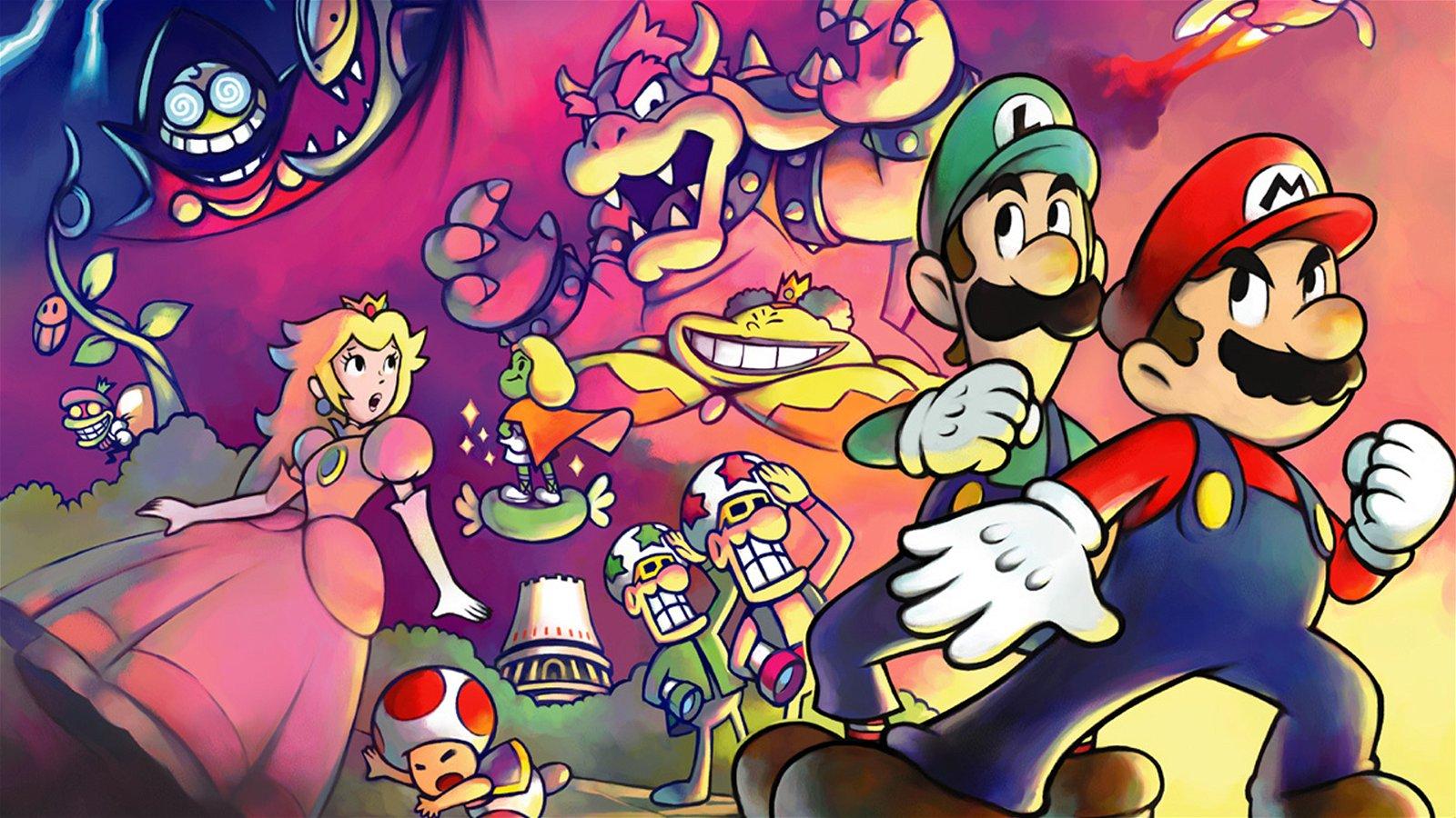 Rumor: Nintendo to Announce Mario & Luigi: Superstar Saga Remake