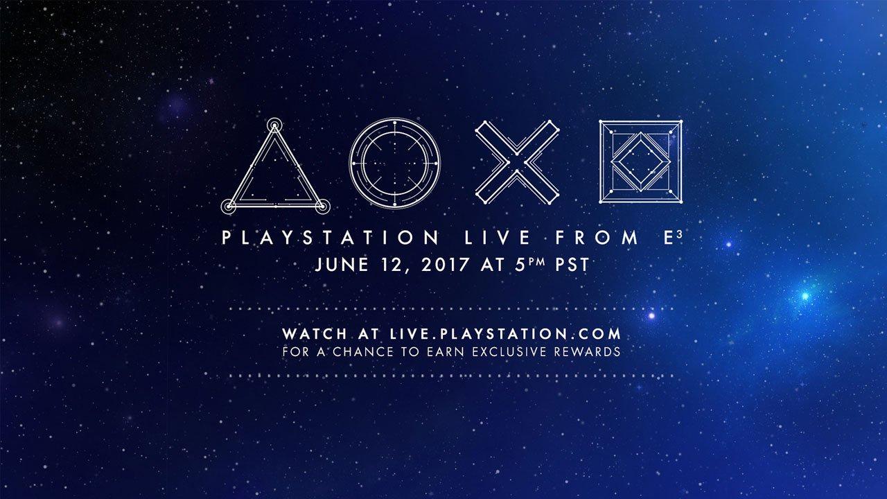 Sony PlayStation E3 2017 LiveBlog