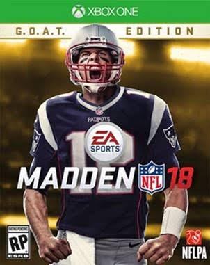 Tom Brady Named EA Sports Madden NFL Cover Athlete
