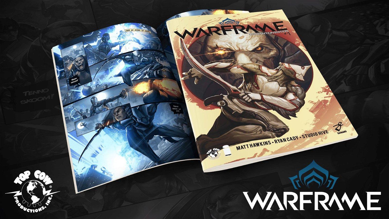 Warframe To Get Original Comic Series Based On The Game 1