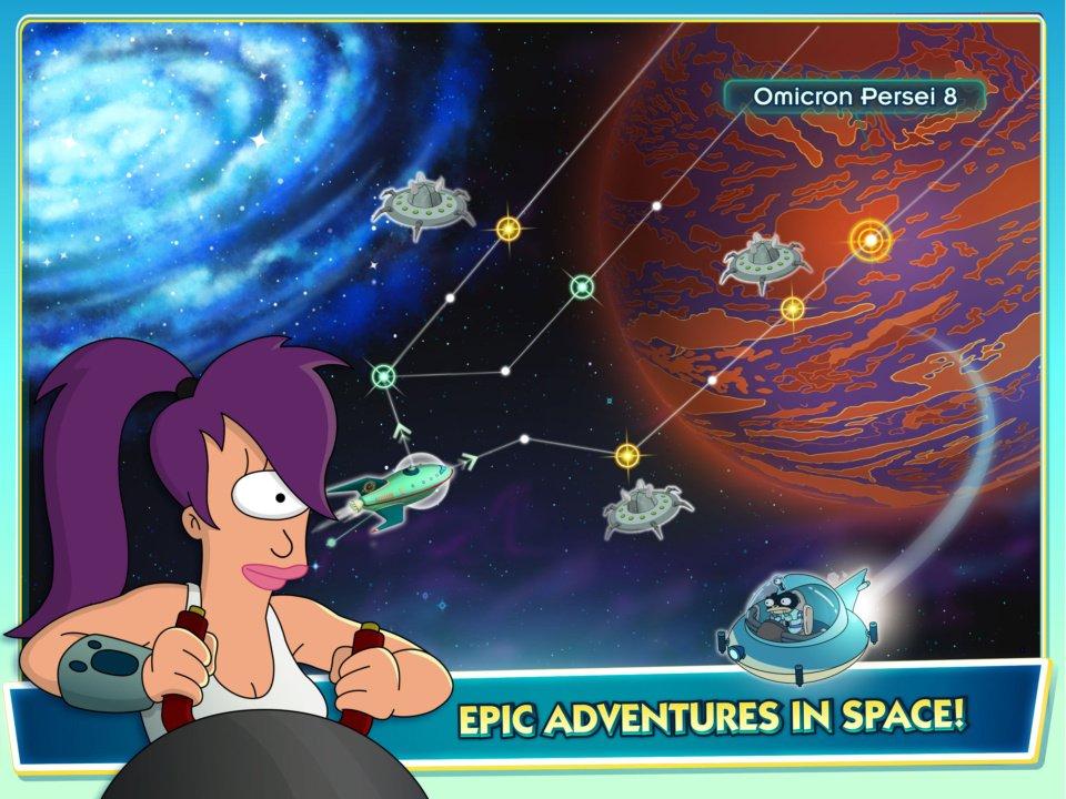 Futurama Brings Us The Worlds Of Tomorrow 1