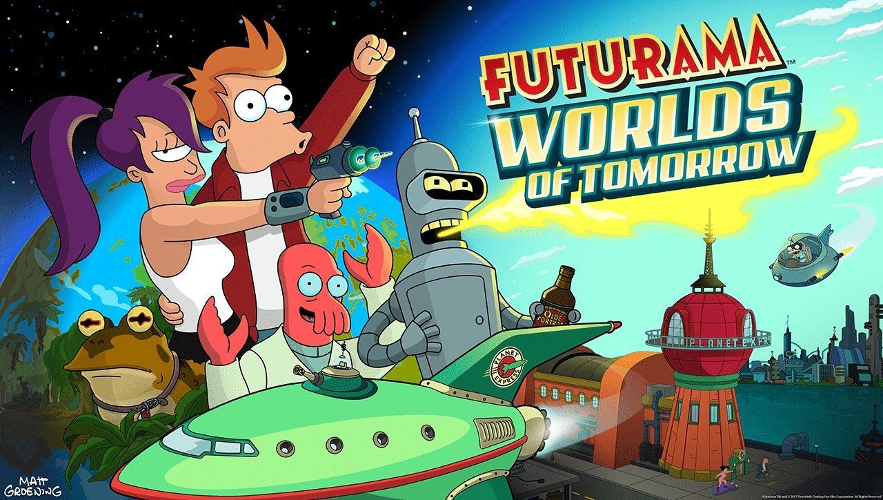 FUturama Brings Us the Worlds of TOmorrow
