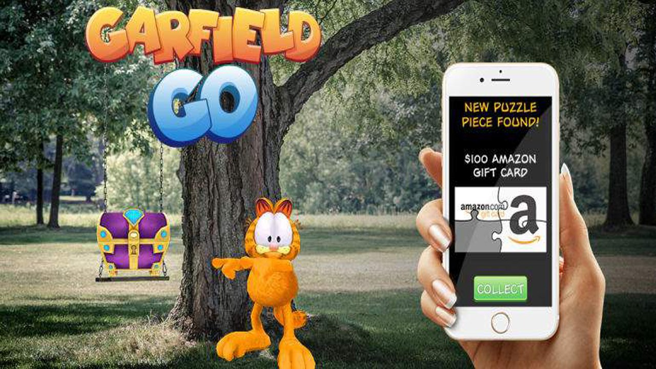 Garfield Go Available Now on iOS and Androi 1