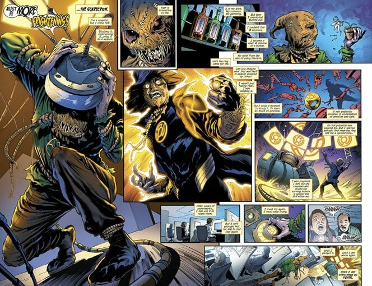 Green Lanterns: Darkest Knights Comic Review 1