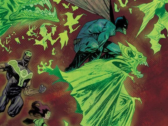 Green Lanterns: Darkest Knights Comic Review