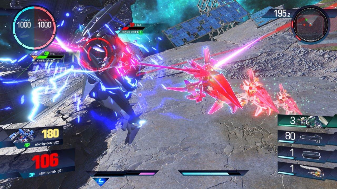 Gundam Versus E3 Hands On Preview- Addictive Arcade Mech Action 1