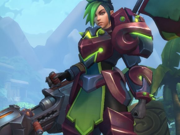 Hi-Rez Studios Adds New Champion, Ash For Paladins Beta