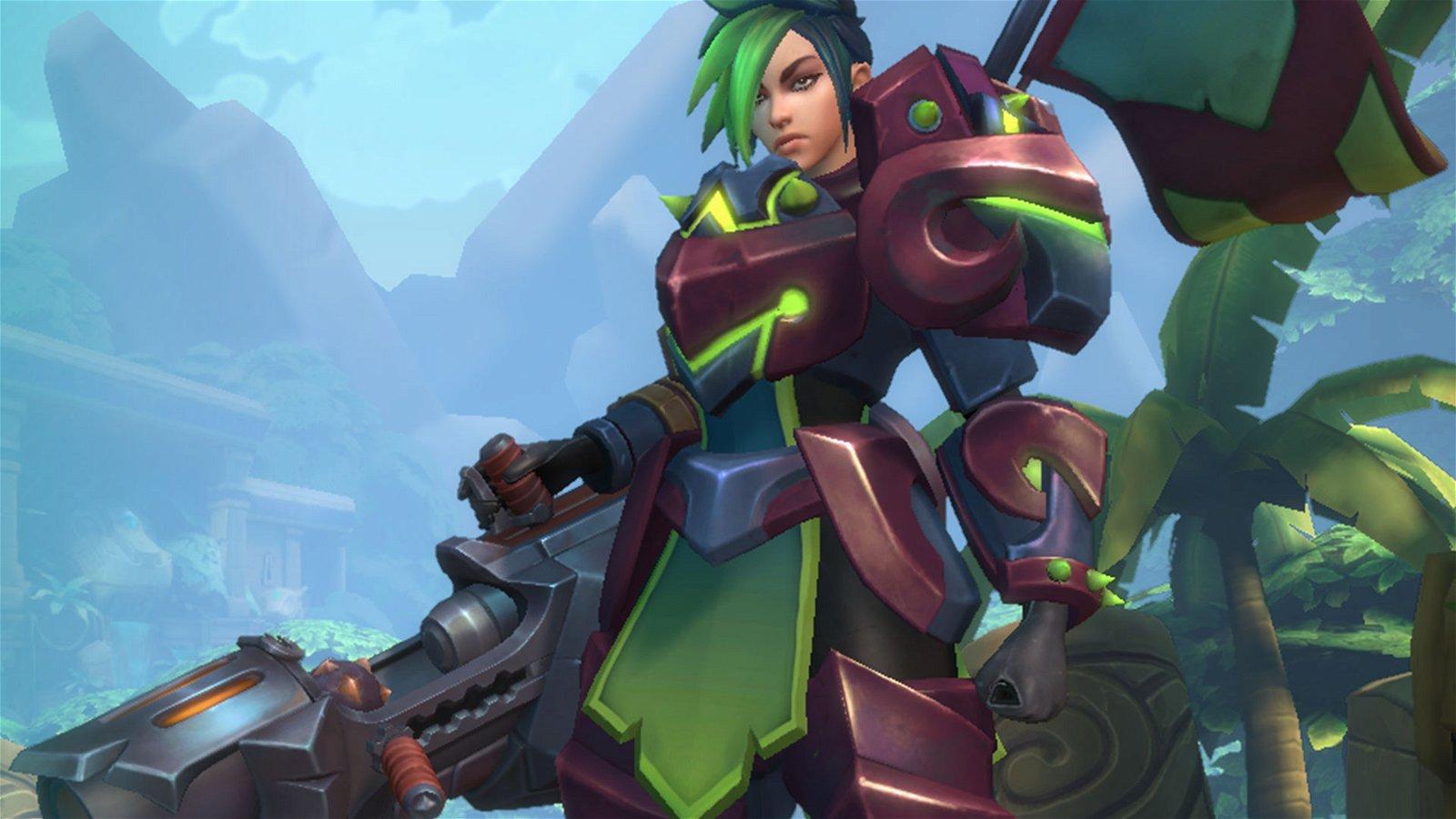 Hi-Rez Studios Adds New Champion Ash For Paladins Beta