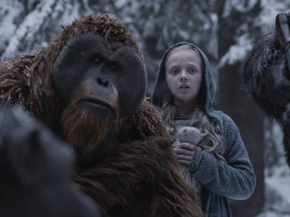 Karin Konoval Talks War for the Planet Planet of the Apes - Interview 1