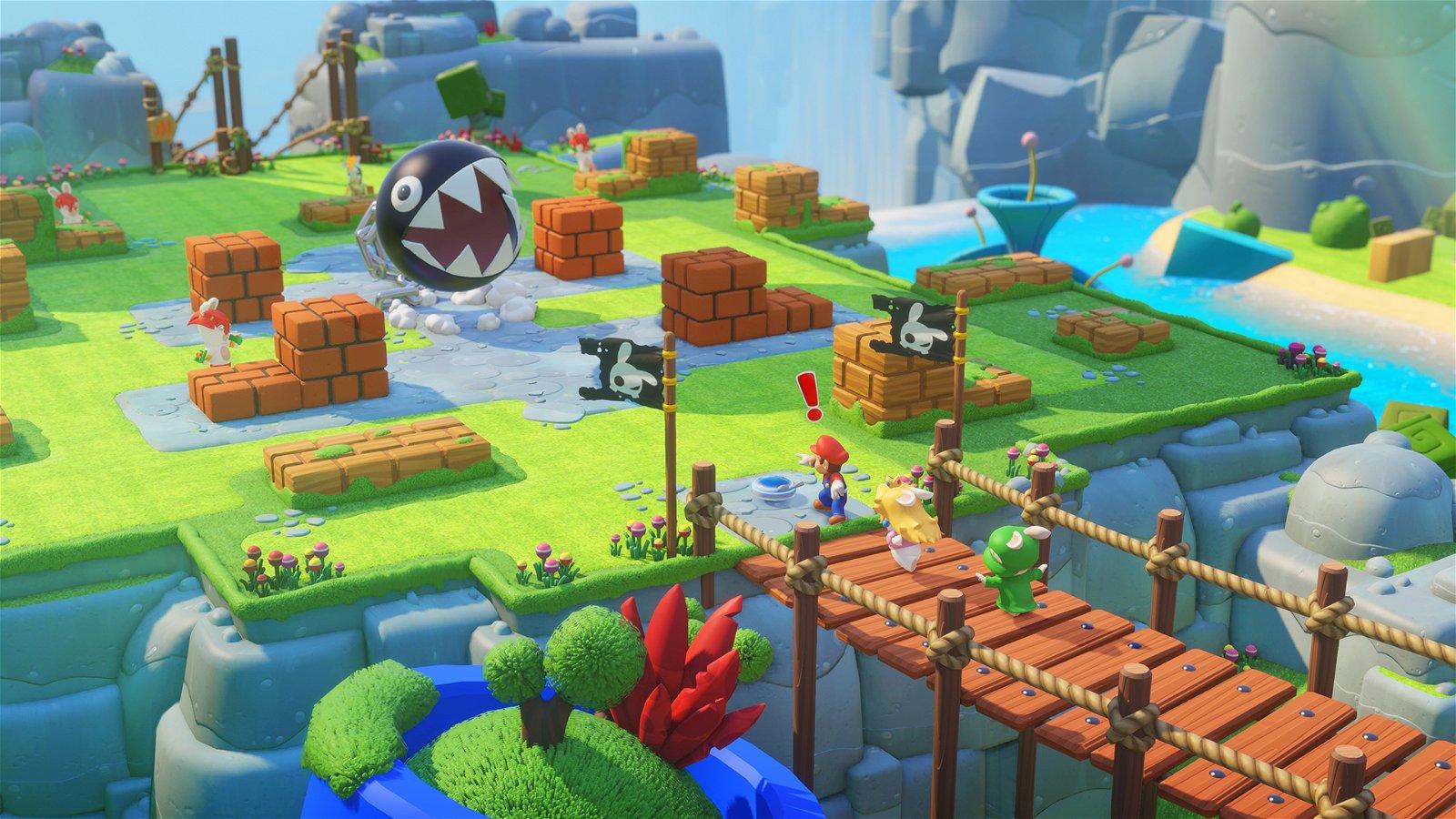 Mario+Rabbids: Kingdom Battle E3 2017 Preview 1