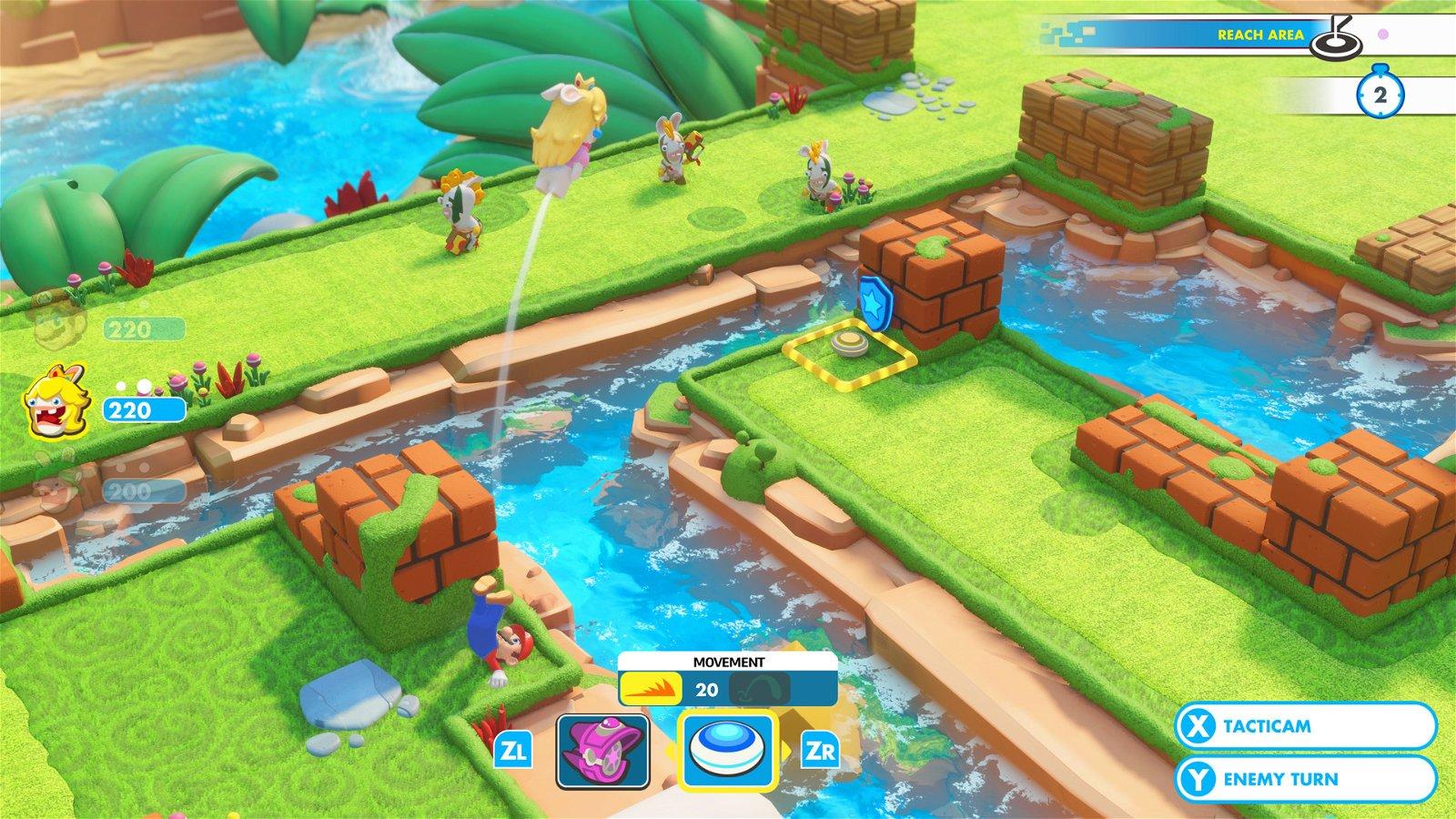 Mario+Rabbids: Kingdom Battle E3 2017 Preview 3