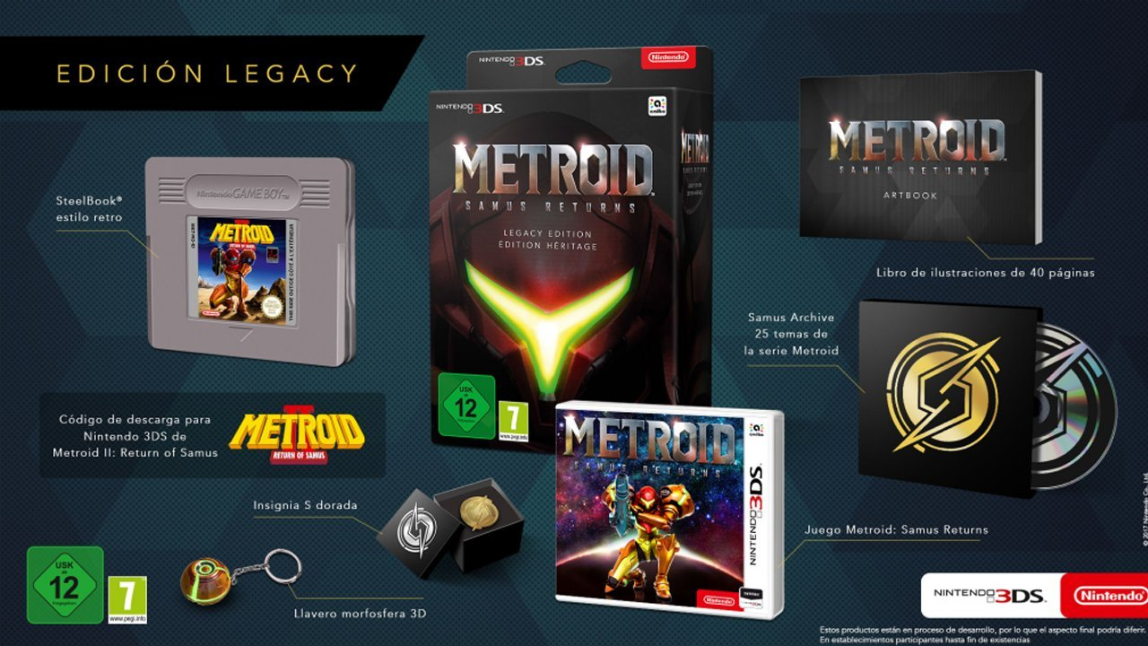 Metroid: Samus Returns To Receive Powered Up Collector's Edition in Europe