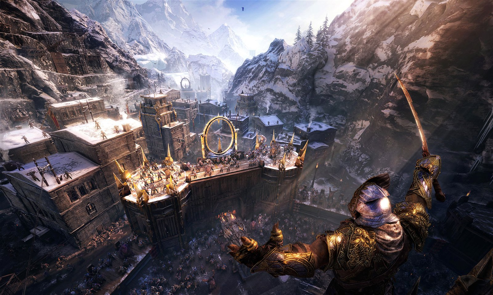 Middle-Earth: Shadow Of War E3 2017 Preview- Total Freedom 4