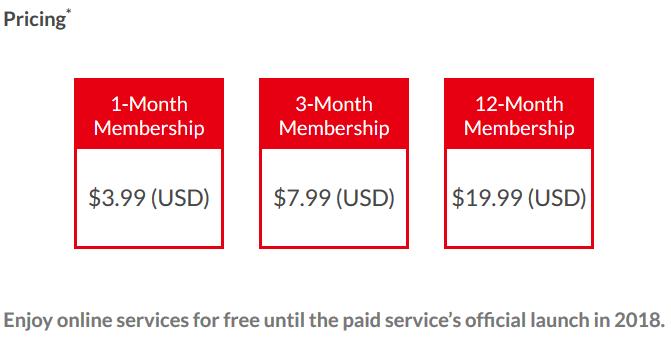 Nintendo Unveils Details On Switch Online Service