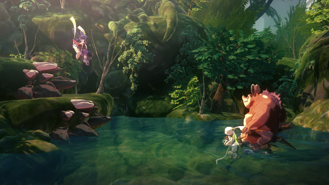 Sakuna: Of Rice and Ruin E3 2017 Preview 1