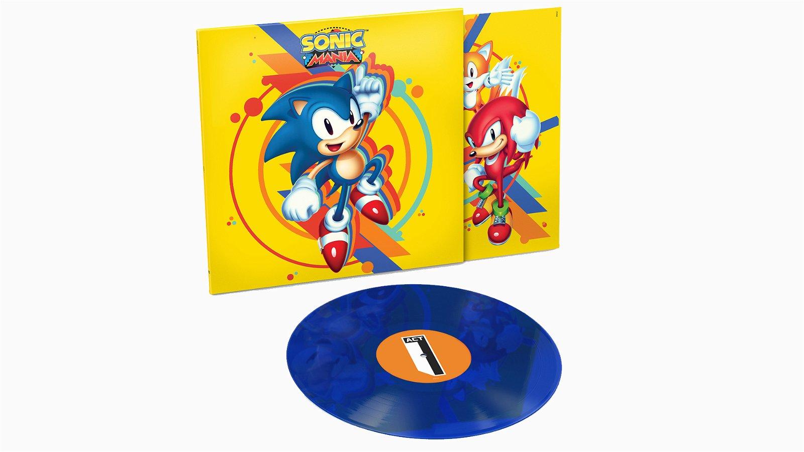 Sega Unveils Sonic Mania Vinyl with Data Discs 1